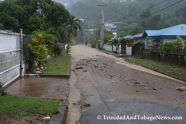 flooding in la seiva maraval trinidad and tobago news blog