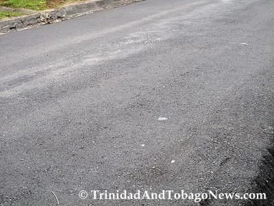 Finally, this image shows how wavy and uneven the broad surface of the road is.