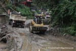 After the Flood and Landslides in La Seiva Village, Maraval
