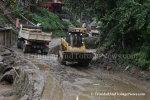 After the Flood and Landslides in La Seiva Village, Maraval