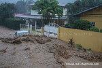 Flood at La Seiva Terrace, Maraval