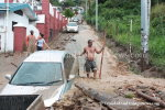Flood Waters Wreck Havoc on Saddle Rd, Maraval
