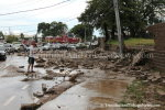 Country Club Wall at Maraval Roundabout Collapses after Showers