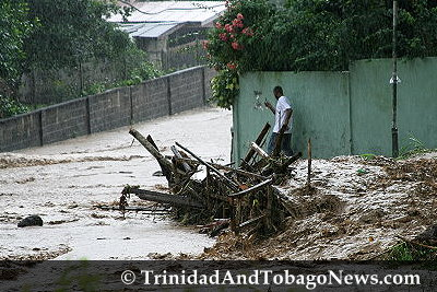Flooding in Trinidad