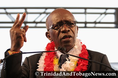 Works and Transport Minister and FIFA Vice-President Jack Warner