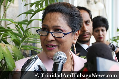 The New Opposition Leader Kamla Persad-Bissessar