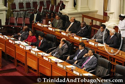 Kamla's First Day in Parliament as Opposition Leader - Panday prefers back bench