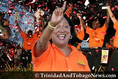 Kamla Persad-Bissessar is new UNC Political leader