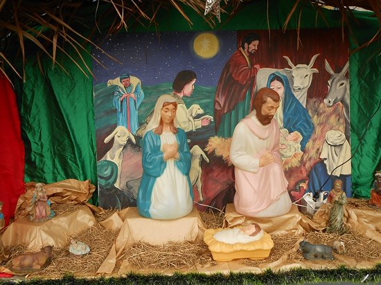 Creche at Front of the School