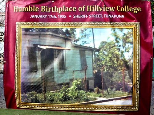 Original Site of Hillview College on Sherrif Street