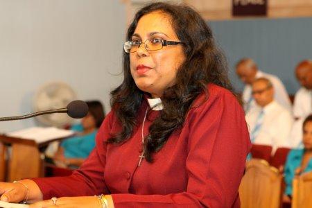 The Rt Reverend Brenda Bullock