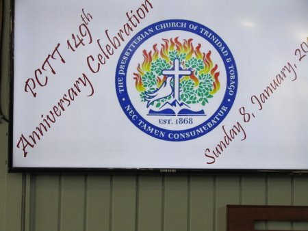 PCTT 149th Anniversary Celebrations