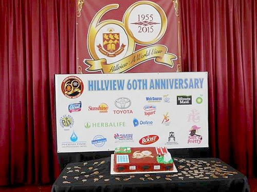 Hillview College's 60th Birthday