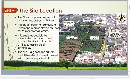 HDC Site Location