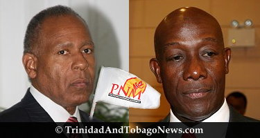 PM Patrick Manning and Dr. Keith Rowley
