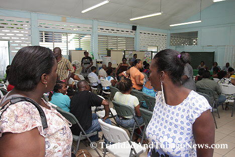 La Seiva Village residents walk out of meeting