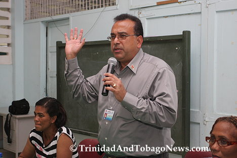 Chairman of the Diego Martin Regional Corporation, Mr. Anthony Sammy