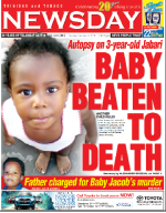 BABY BEATEN TO DEATH