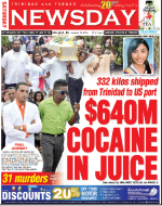 Image result for trinidad and tobago cocaine on the port