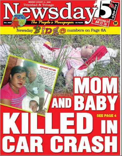 Newsday, August 31, 2009