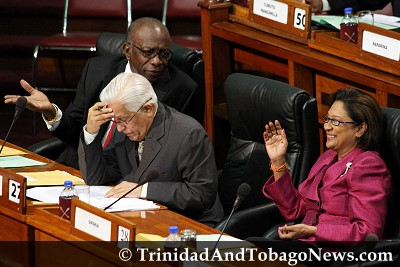 Jack Warner, Basdeo Panday and Kamla Persad-Bissessar