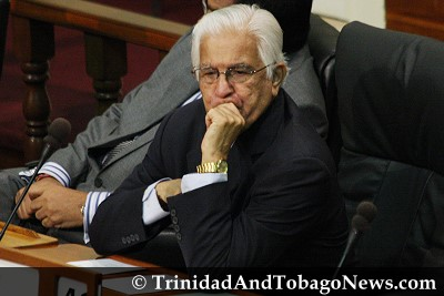 Former Opposition Leader Basdeo Panday