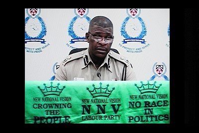 Acting Police Commissioner James Philbert