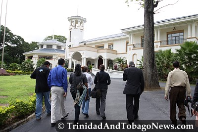 Media Tour of the Prime Minister's Residence and Diplomatic Centre