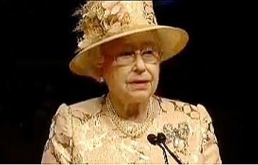 Queen Elizabeth II delivers Opening Statement