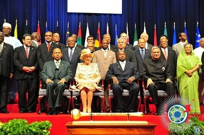 Her Majesty Queen Elizabeth II heads CHOGM