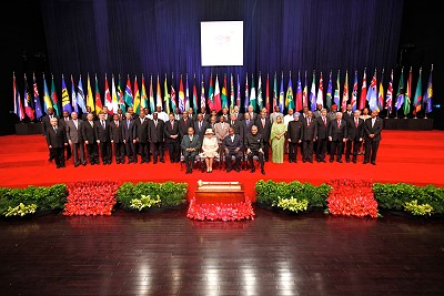 Commonwealth 2009 Heads of State