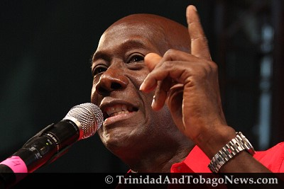 Diego Martin West candidate Dr Keith Rowley