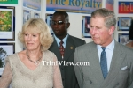 The Prince of Wales, Charles Philip Arthur George and his wife Camilla, the Duchess of Cornwall