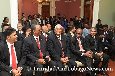 Swearing-In of Cabinet Ministers and Government Senators