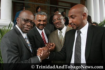 Jack Warner and Other Ministers