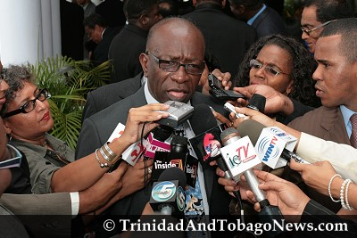Jack Warner, Minister of Works and Transport