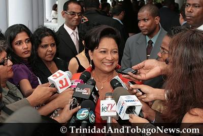 PM Kamla Persad-Bissessar Meets the Press