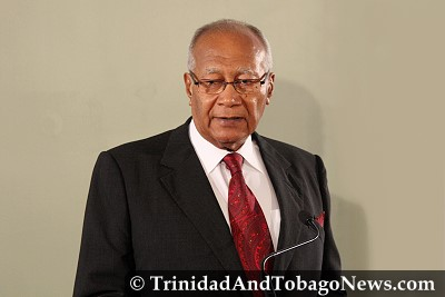 President of the Republic of Trinidad and Tobago Professor George Maxwell Richards