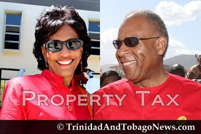 Karen Nunez-Tesheira and PM Patrick Manning