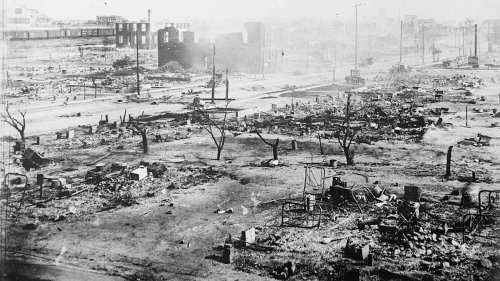 U.S. Marks 100th Anniversary of Tulsa Race Massacre, When White Mob Destroyed Black Wall Street