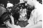 Scientist injecting patient in Tuskegee Syphilis Study