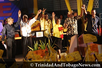opposition parties sign unity pact trinidad and tobago news blog