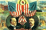1900 Campaign poster for the Republican Party