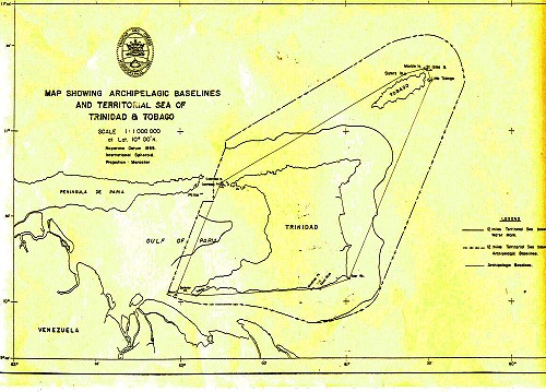 Archipelagic Baselines and Territorial Sea of TandT