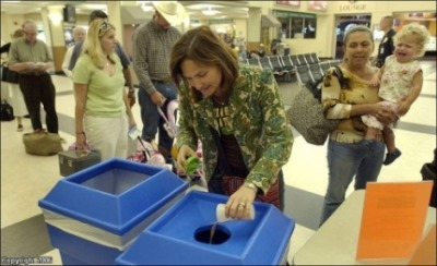 If mixing liquids was a key component of the bomb making process then why are airport security ordering people to mix liquids?
